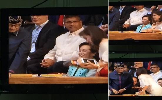 SONA, Duterte sona, VP Leni Robredo, GMA, Gloria Arroyo, Ramos