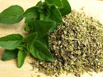 hierbas aromaticas en la cocina de la abuela