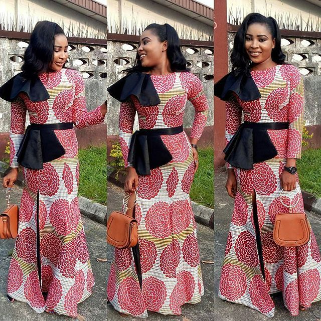 Classical Stylish Ankara Long Gown Styles For African Ladies ...