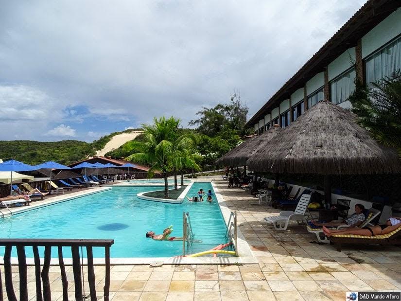 Onde ficar em Natal (RN) - review D Beach Resort - piscinas