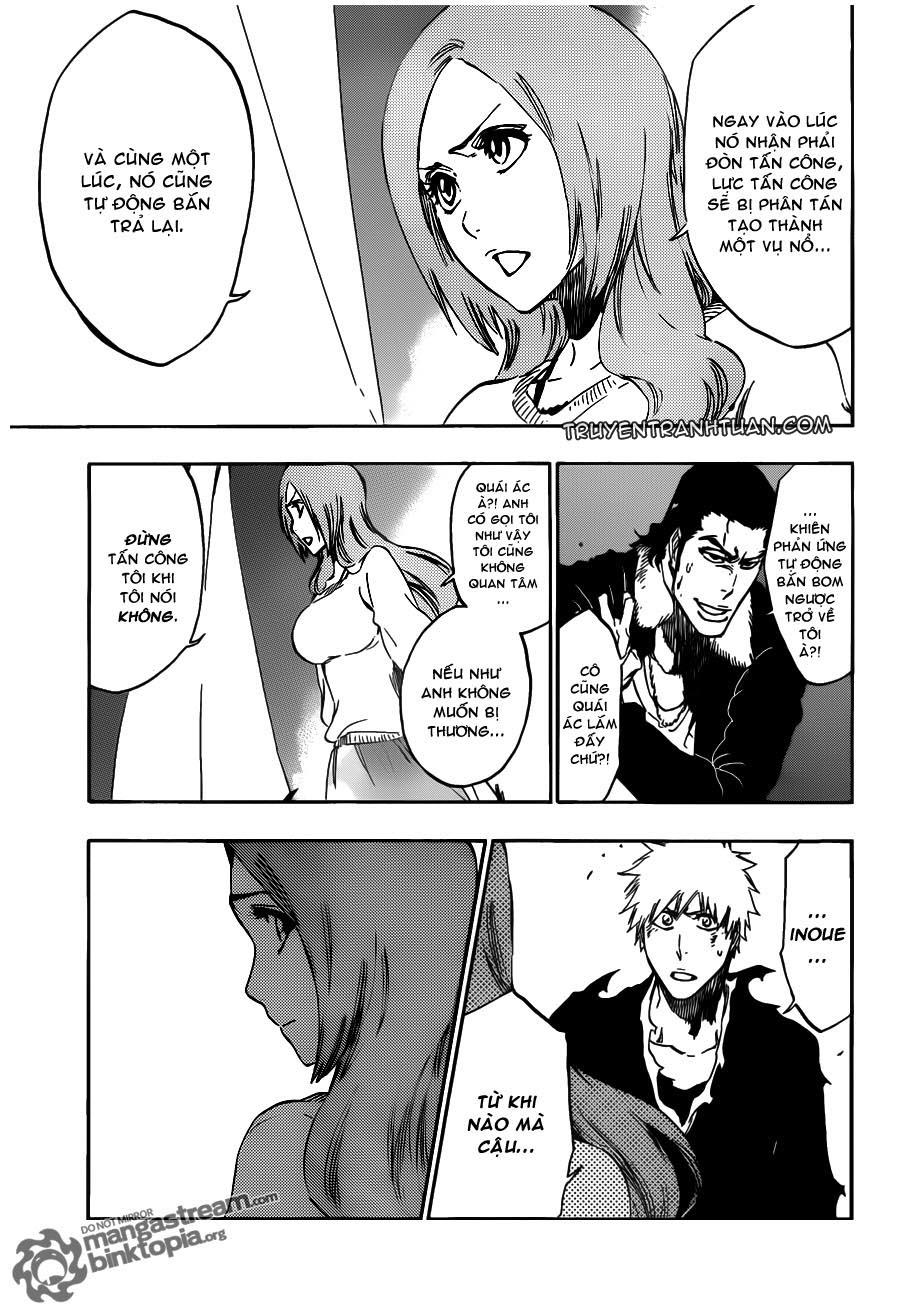Bleach chapter 449 trang 15