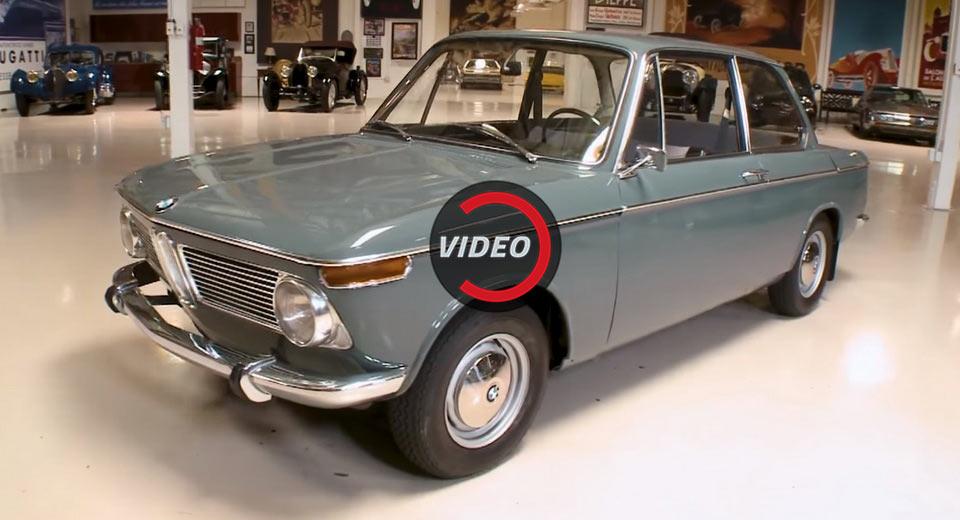 Unrestored BMW 1600 Stops By Jay Leno's Garage For A History Lesson