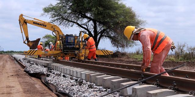 Ya se renovaron 600 kilómetros de vías del Belgrano Cargas