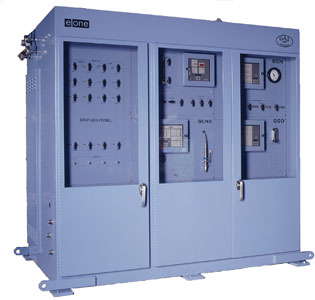 gas cooled generator monitoring unit