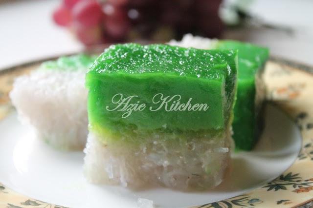 Kuih Talam Tokyo Azie Kitchen Yang Sedap
