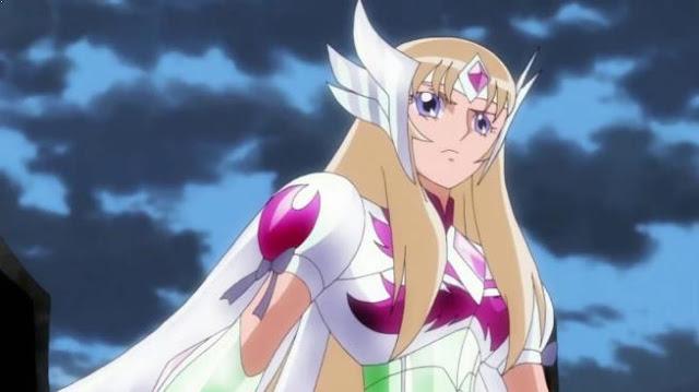 Aquila Yuna (Saint Seiya Omega) - Top Strongest Anime Character Who Wield Power of Wind/Air