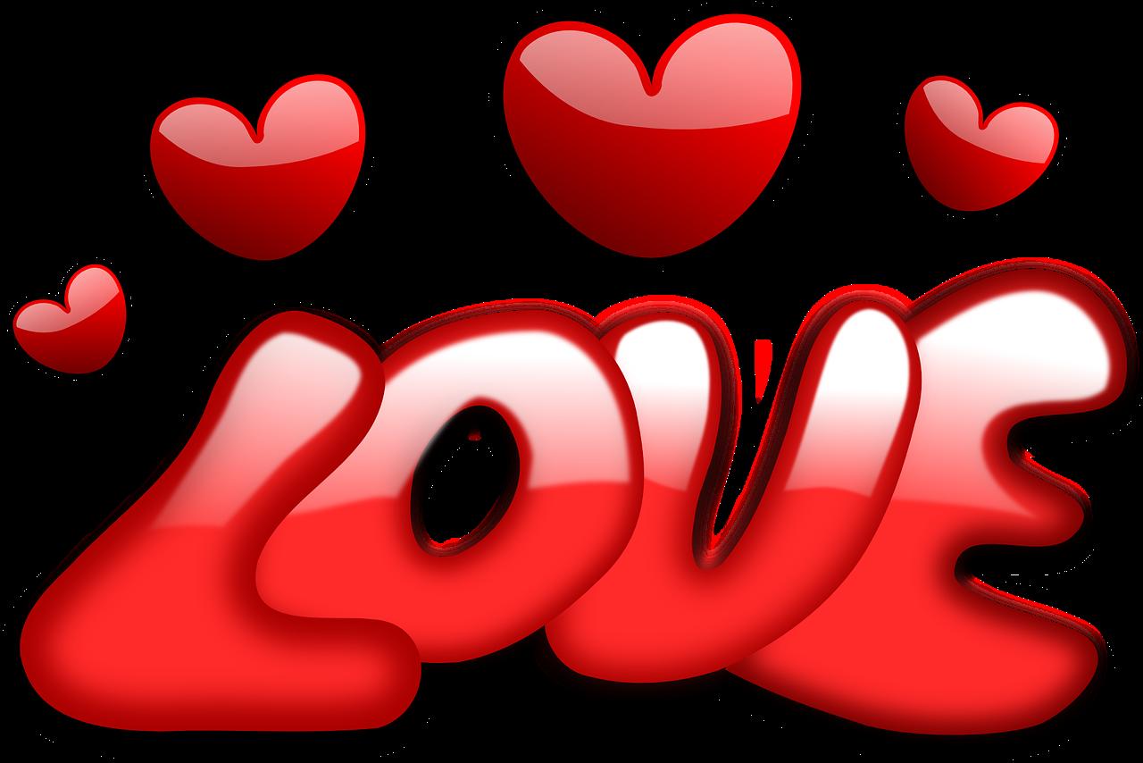 愛、ハート、バレンタイン
