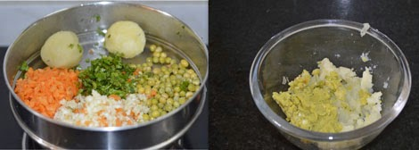 vegetable stuffing for paratha