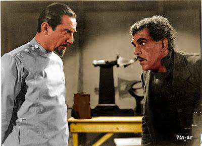The Invisible Ray Boris Karloff Bela Lugosi Image 1