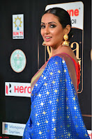 Priya Shree in Beautiful Blue Saree at IIFA Utsavam Awards 2017  Day 2    HD Exclusive Pics 14.JPG