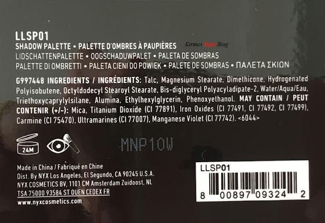 Nyx Lid Lingerie