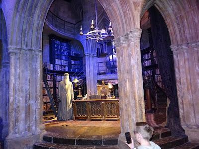 Despacho del profesor Dumbledore en Hogwarts