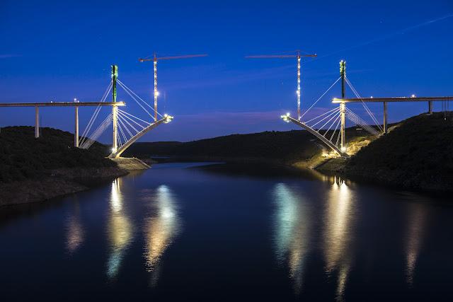 Viaducto del río almonte