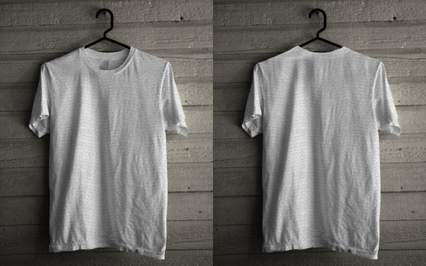 Download Mockup T-shirt CDR File Gratis