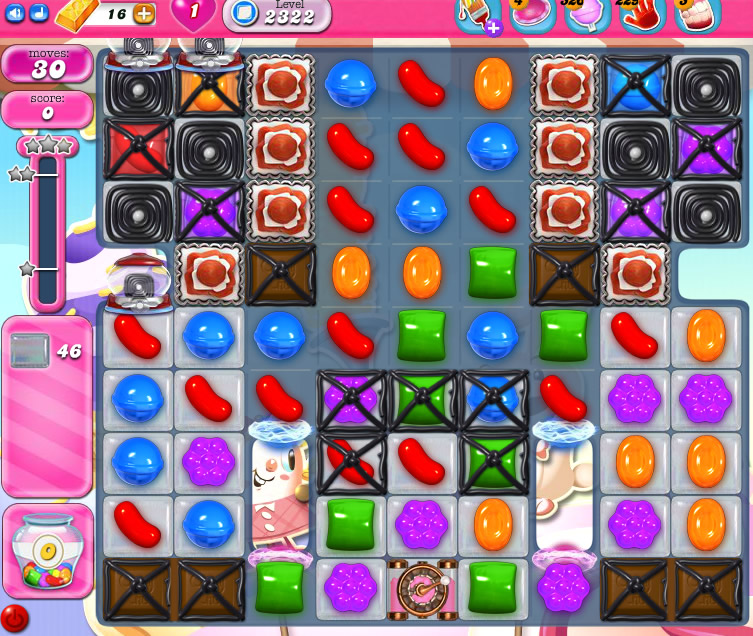 Candy Crush Saga level 2322