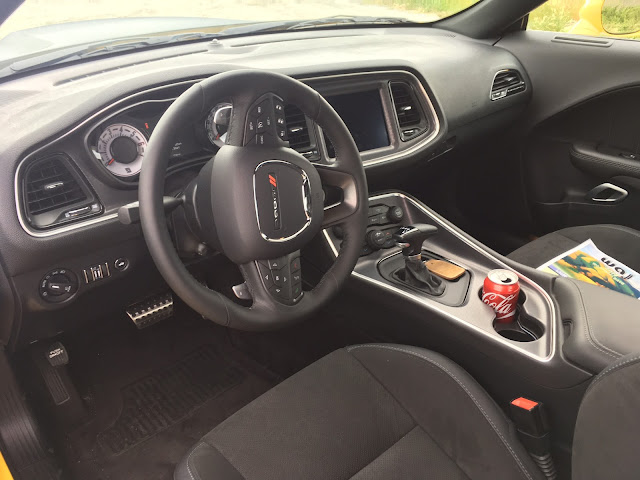 Interior view of 2017 Dodge Challenger T/A 392