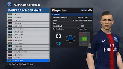 PES 2017 PTE Patch 2017 6.1 Option File Winter Transfers 2018/2019