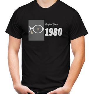 T Shirt Original Since 1980