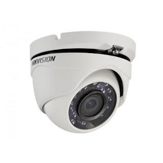 HIKVISION Caméra dôme Turbo HD 1080p, IR:20m,DNR, IP66 DS