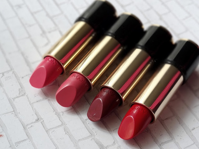 Lancome's L'Absolu Rouge Lipsticks