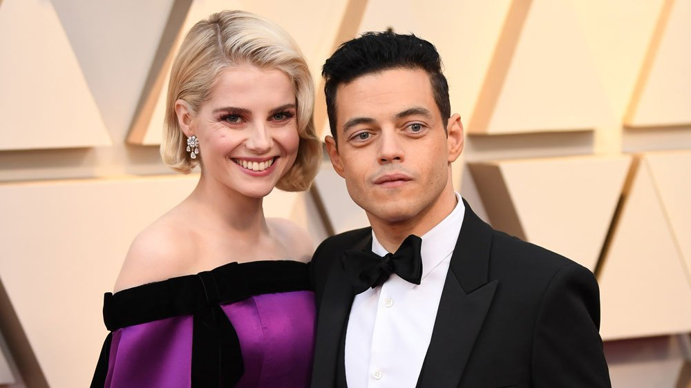 Rami Malek and Lucy Boynton Are a Chic Couple at the 2019 Oscars