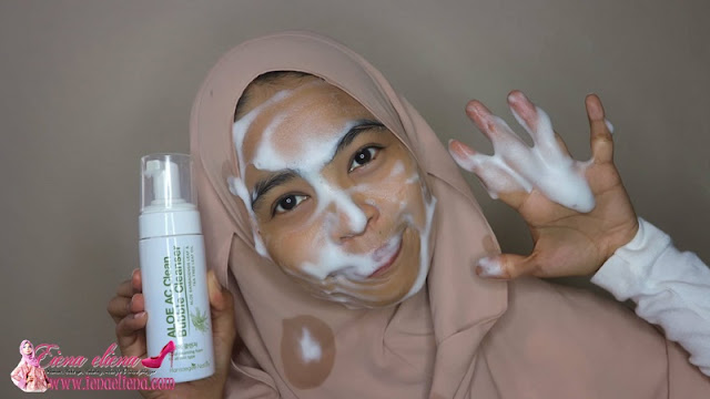 Hansaegee Aloe AC Clean Bubble Cleanser Review