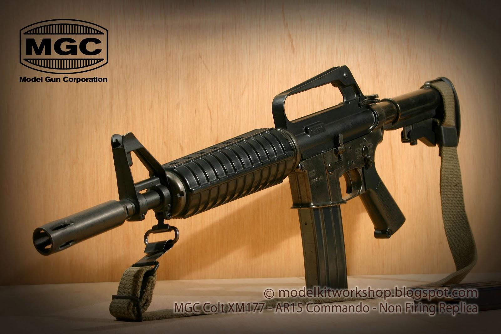 MODELKIT WORKSHOP: NON FIRING REPLICA (Metal) : MGC Colt XM