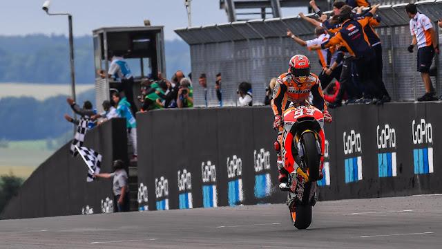 Hasil Kualifikasi MotoGP Ceko 2017 | Marquez Pole, #2 Velentino Rossi #3 Dani Pedrosa