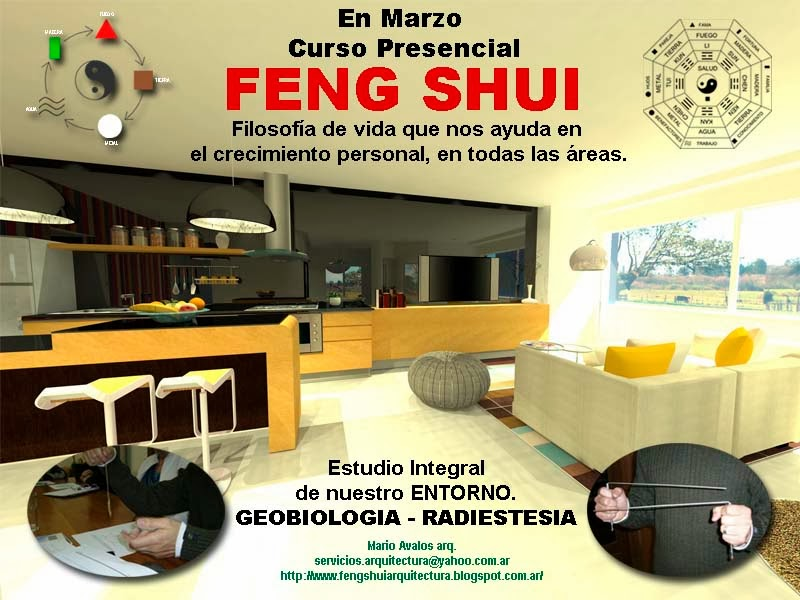 Arquitectura y feng shui curso de feng shui en marzo - Arquitectura feng shui ...
