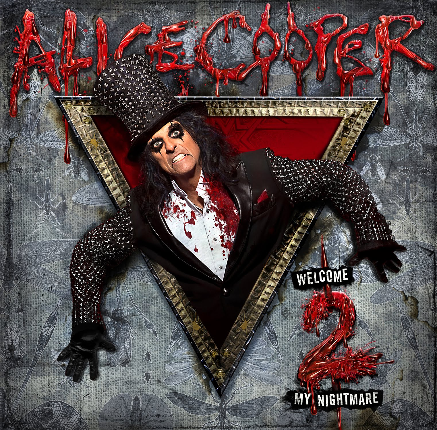 100 7 Wzxl Steve Raymond Alice Cooper Welcome 2 My