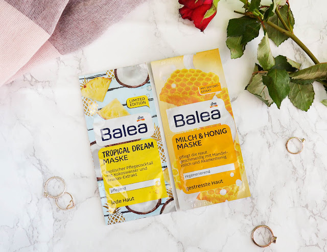 Trying Balea Face Masks