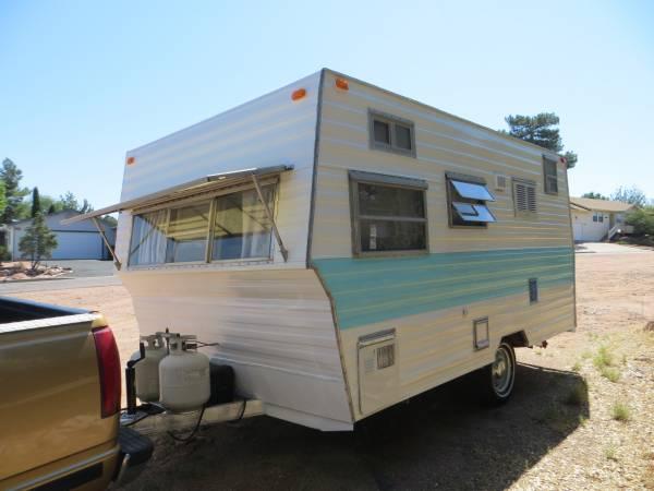 Vintage Trailer Weights : Rv mods and trade camper travel trailer