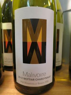 Malivoire Mottiar Chardonnay 2011 - VQA Beamsville Bench, Niagara Peninsula, Ontario, Canada (91 pts)