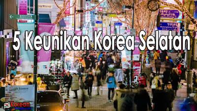 5 keunikan korea selatan yang belum kamu tahu