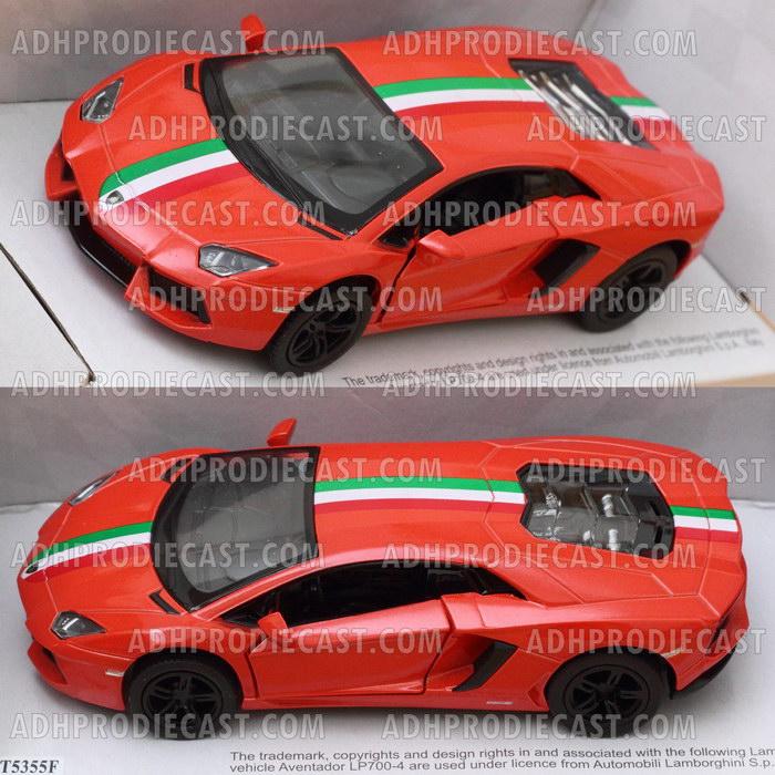 Miniatur Mobil Lamborghini Adventador LP 700 Stripe