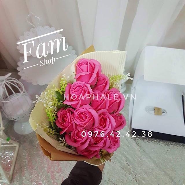 Hoa hong sap thom vinh cuu o Khuc Hao