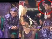 Pesta Pernikahan Jadi Heboh Ketika Pria Ini Lakukan Hal yang Tak Terduga pada Pengantin Wanita, Videonya Bikin Netizen Ikut Bereaksi