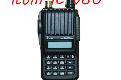 Tutorial Cara Setting Radio ICOM IC-V80