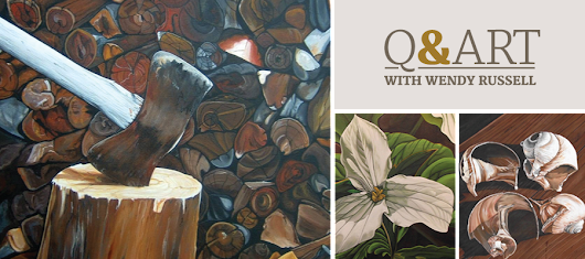 Q&Art with Wendy Russell