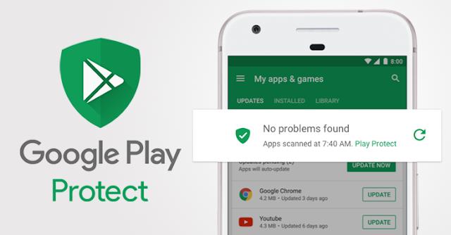 Android'li Cihazlarda Zararlı Uygulamalara Karşı Google Play Protect