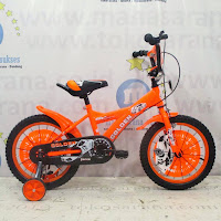 16 golden force sepeda anak bmx