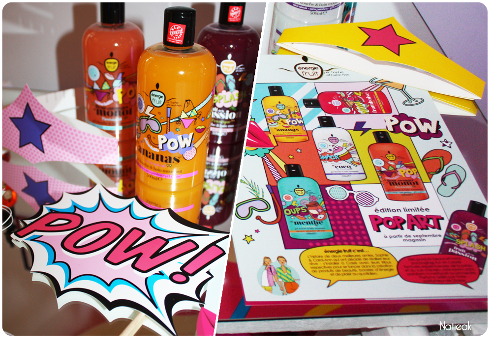 collection Pop Art de Energie Fruit