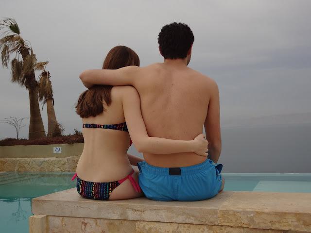 Piscina en el mar Muerto