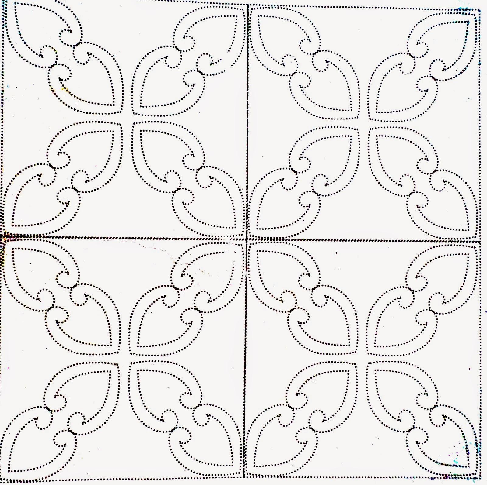 Gambar Batik Motif Geometris