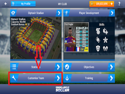 Cara Edit Jersey Dream League Soccer Secara Online dan Offline