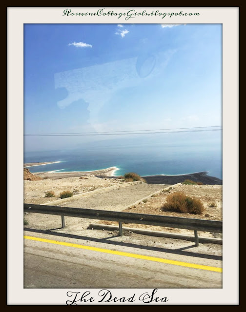 Qumran - the Dead Sea photo of the dead sea or salt sea