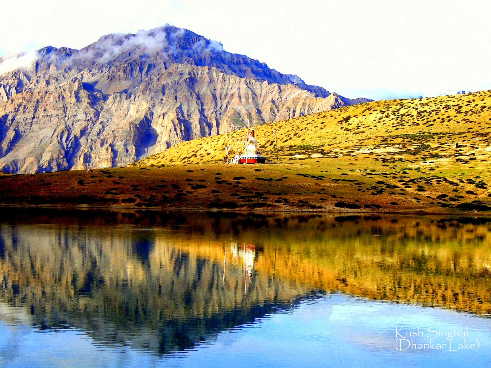 Dhankar lake Spiti, spiti, Spiti valley