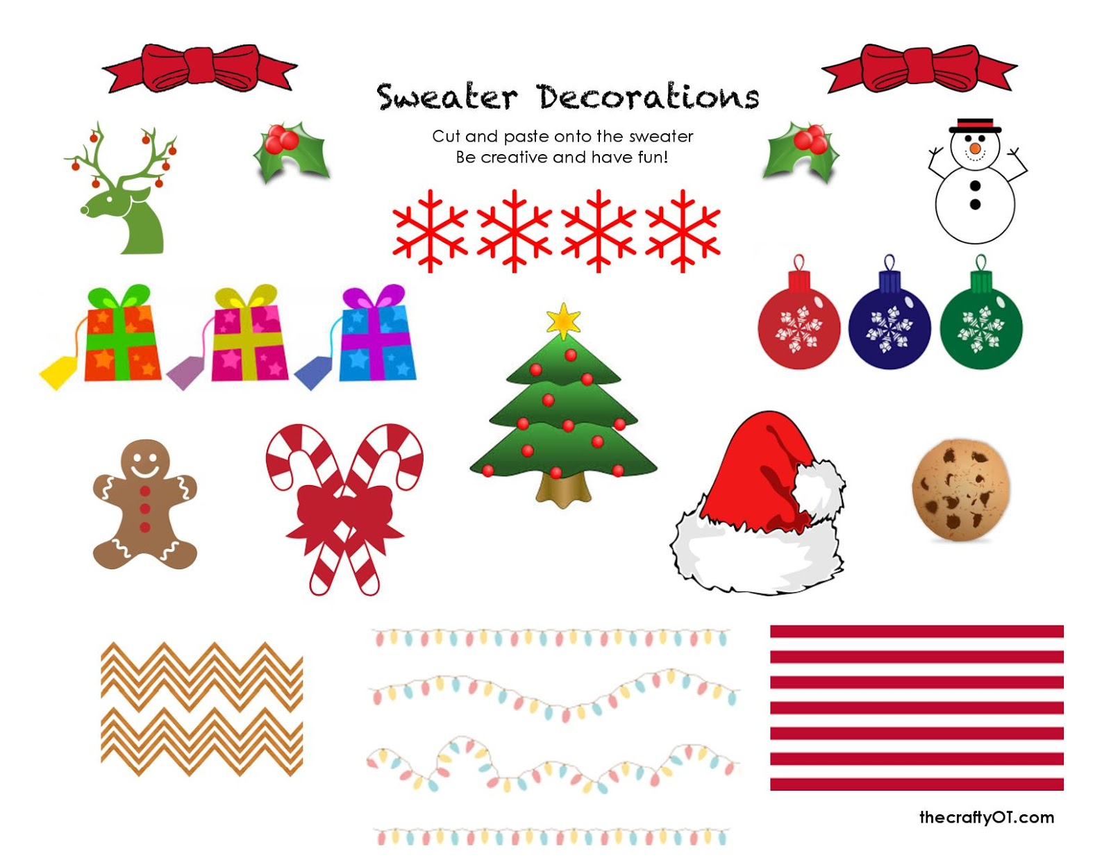 The Crafty Ot Free Winter Worksheets