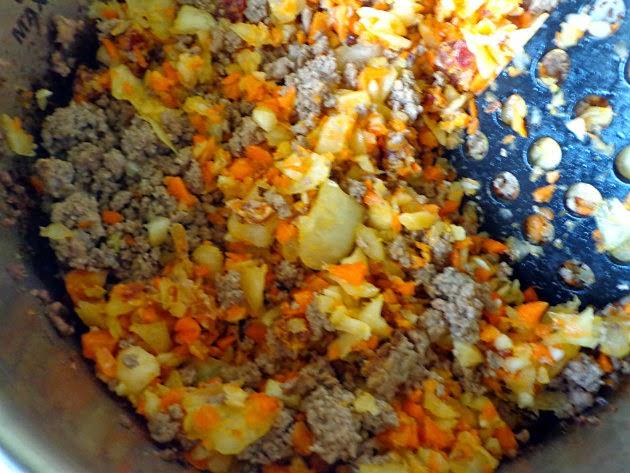 Stir in carrot, onion, and celeriac