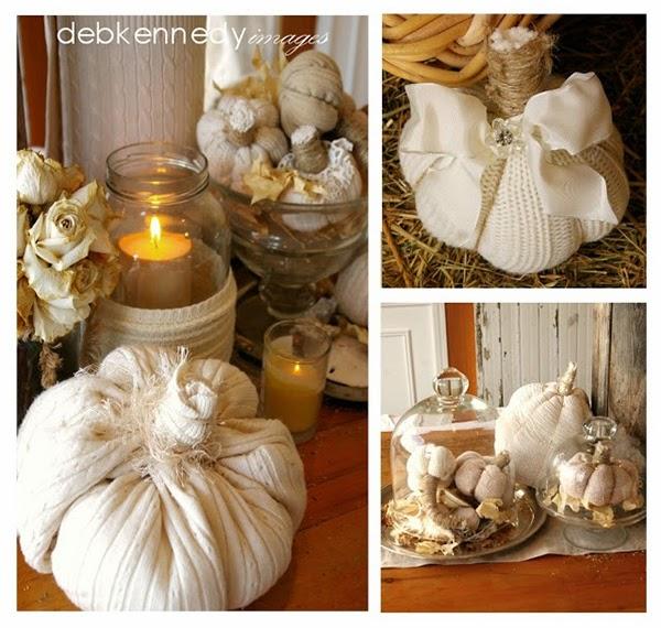 DIY Sweater Pumpkins Tutorial
